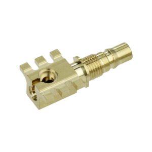 Vardeco contact en laiton pour la RF télécommunication