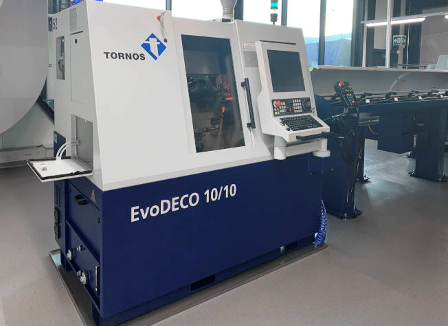 Vardeco, CNC screw machine tornos